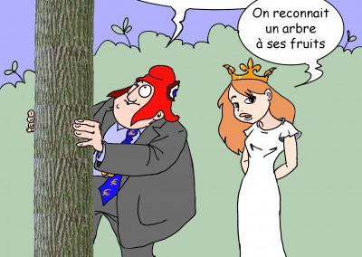 Castabé - Chêne républicain