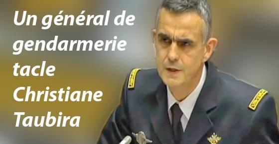 Général Soubelet tacle Christiane Taubira