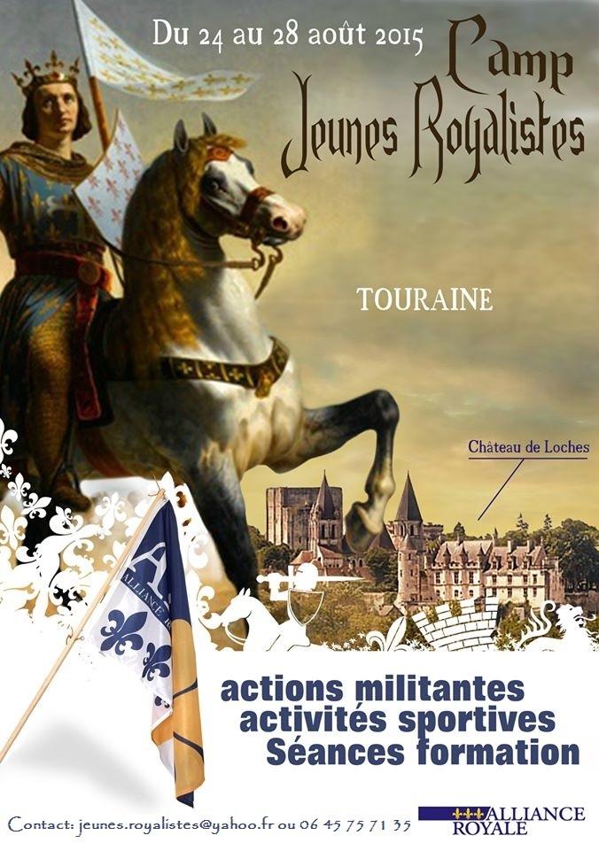 Camp Jeunes Royalistes 2015