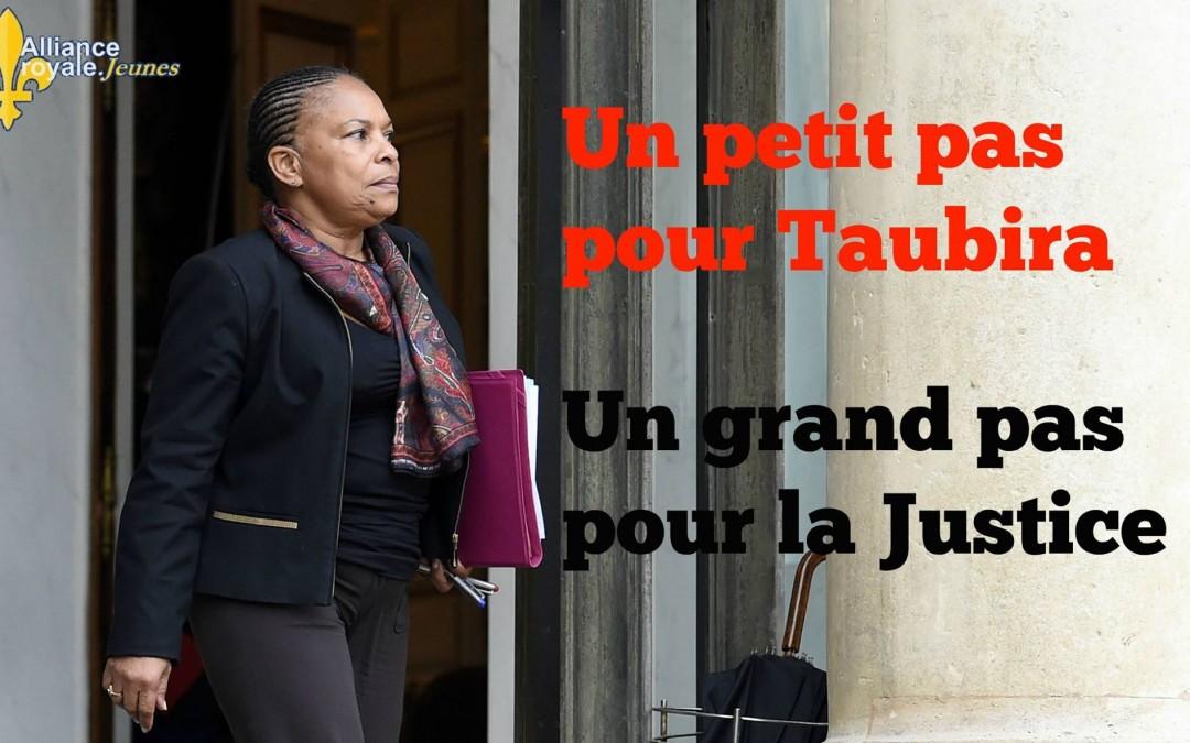 Démission de Christiane Taubira