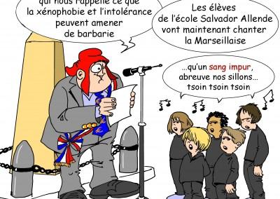 Castabé - Marseillaise du 11 novembre 2
