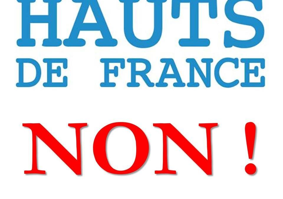 Non à hauts de France !
