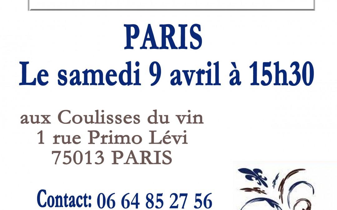 Café bleu Parisien