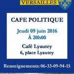Café politique à Versailles