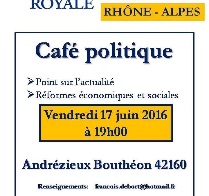 Café politique Andrézieux Bouthéon (42)