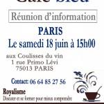 Paris: Réunion d'information
