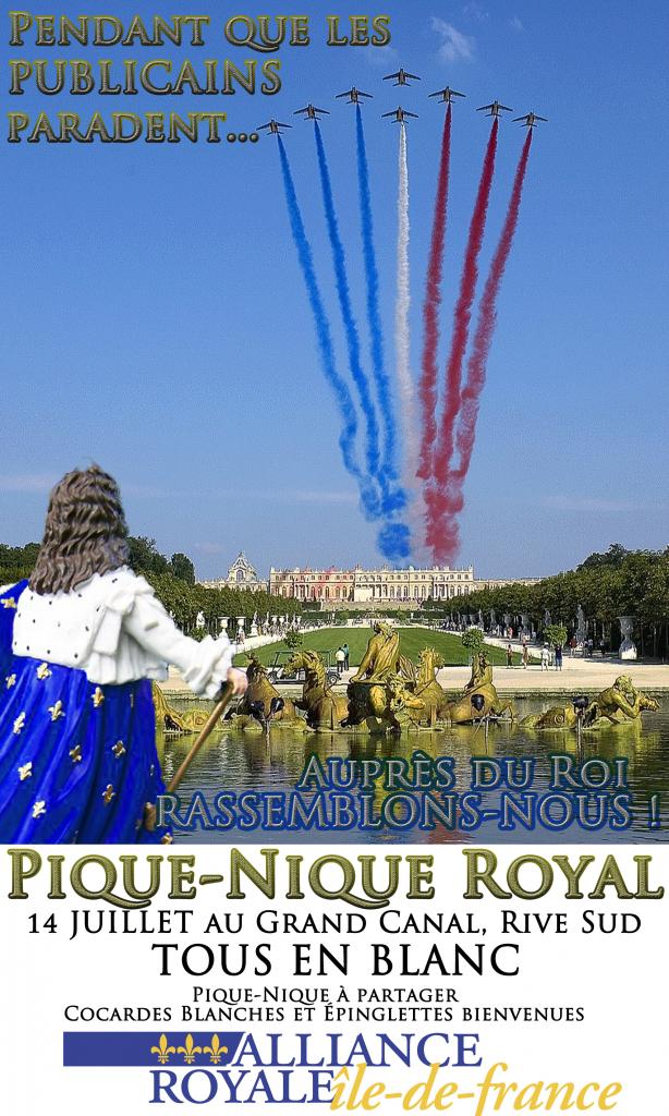 Alliance royale 14 juillet