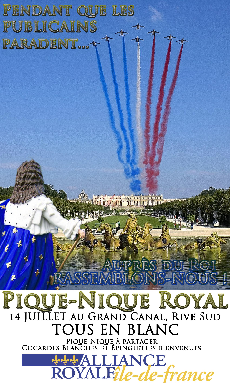Pique nique royal du 14 juillet alliance royale - Lieux de pique nique en ile de france ...