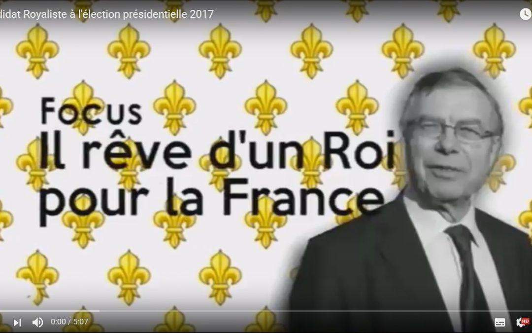Un candidat royaliste à l'élection présidentielle 2017