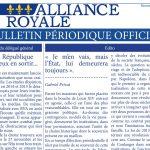 BPO Alliance royale Novembre Décembre 2016