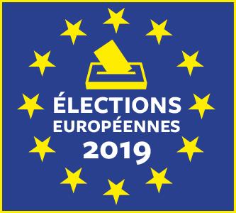 Le bulletin de vote à l'élection européenne (pour toute la France)